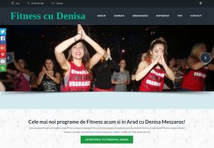 Fitness cu Denisa in Arad: